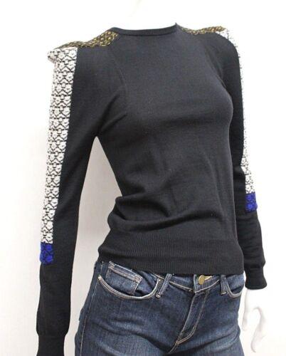 Tricot 100 1 Ras Toge Taille Cou Archives Du Laine En Sweatshirt Toga Noir x7EnI