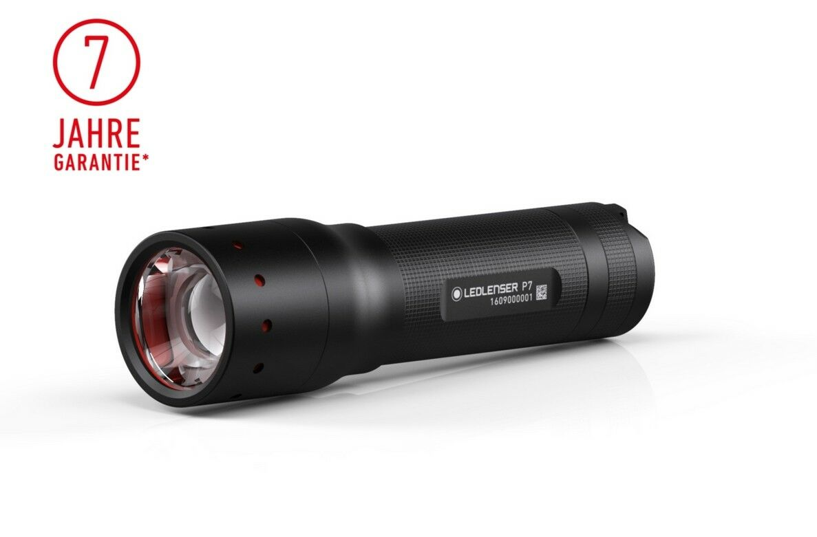 Ledlenser® P7 LED Taschenlampe | 450 Lumen | High Performance Line