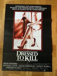 Dressed-to-Kill-Kinoplakat-039-81-Michael-Caine-Angie-Dickinson-B-de-Palma