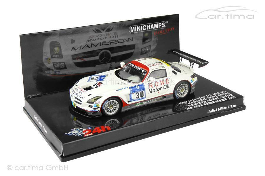 Mercedes-Benz SLS AMG gt3 - 24h nurburgring 2011-Hahne Kaffir mamerow-im