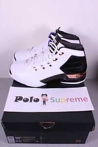 check out 39f9a 948ca Nike Air Jordan 17 XVII Plus + White Black Copper Leather MVP ASG ...