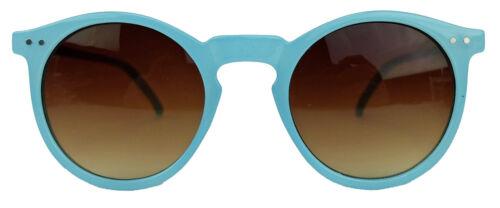 Runde Sonnenbrille Modebrille Klarglas Vintage Stil Pantobrille Damen Herren N15