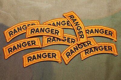 "1 Original Vietnam War U.S Army /""Ranger/"" Uniform Patch Tab from Veteran Lot"