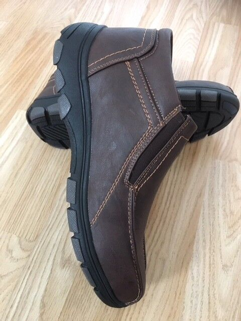 NEW Men Fur Lined Orthopaedic Diabetic Zip up Brown Walk Walk Walk Boots shoes Light Size 0ecdcb