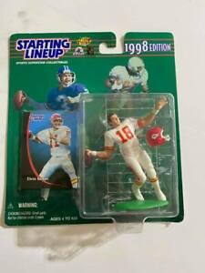 1998 NFL FOOTBALL Starting Lineup FIGURE Elvis Grbac SLU Kansas City Chiefs