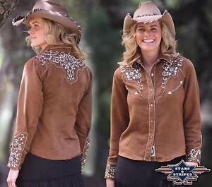 amp; Country Stars Western Stripes monroe Chemises Ref RgdXqqv