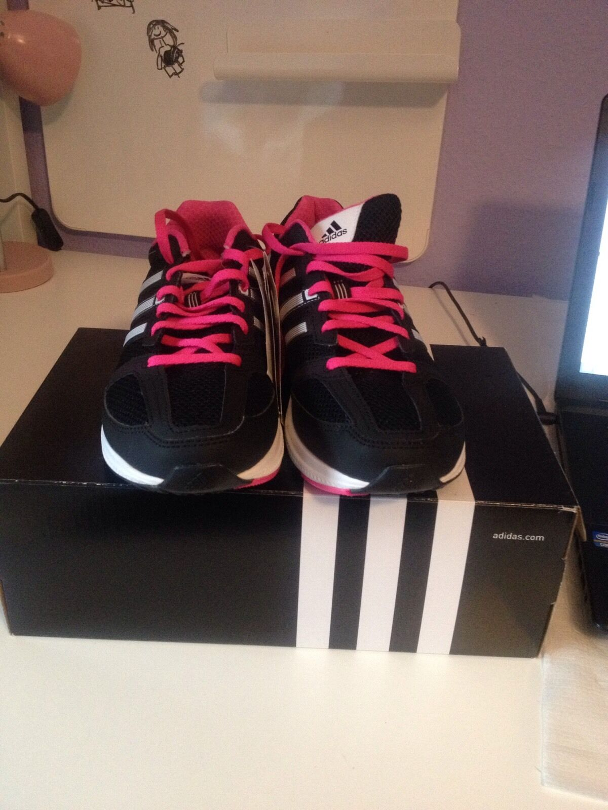 Adidas mana rc rc rc bounce W Damen Runningschuhe Gr 40 2 3 (AQ5449) Neu in Karton 80a524