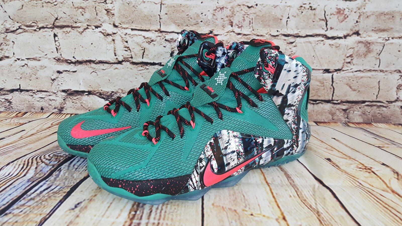 NIKE MENS LEBRON JAMES XII X-Mass EDITION BASKETBALL SHOE Cheap women's shoes women's shoes