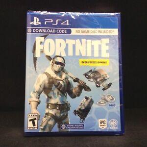 Fortnite Deep Freeze Bundle Playstation 4 Ps4 Brand New Us