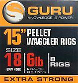 Guru 15 Inch Pellet Waggler Rigs