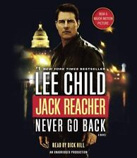 Never Go Back: A Jack Reacher Novel Book 18 Movie Tie-In Lee Child NEW Audio CD
