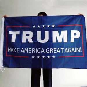 2016 Donald J Trump 3x5 Foot Flag Make America Great Again for President USA MU