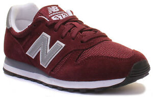 new concept 74b06 b648f Details about New Balance ML 373 Womens Ladies Burgundy Maroon Trainers UK  Size 3 - 8