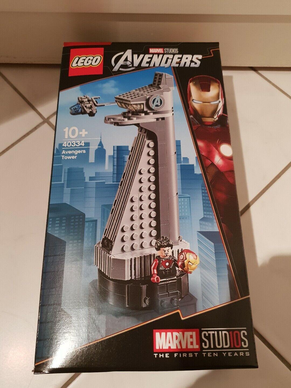 Lego Marvel Studios Avengers Tower 40334
