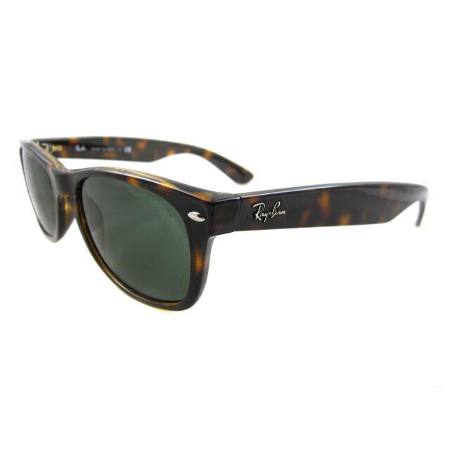 Ray-Ban Sunglasses New Wayfarer 2132 902 Tortoise Green Small