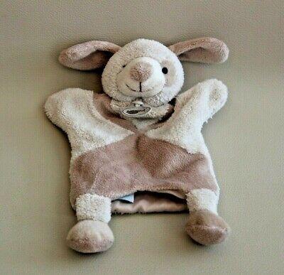 Peluche Doudou Marionnette Chien Beige Baby Nat' 32 Cm Aspetto Elegante