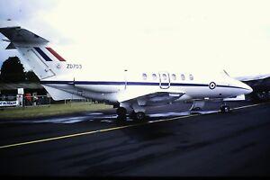 4-322-British-Aerospace-BAe-125-CC-3-C-N-257183-RAF-ZD703-Kodachrome-SLIDE