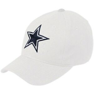 Dallas-Cowboys-NFL-White-Basic-Wool-Crew-Adjustable-Hat-Cap