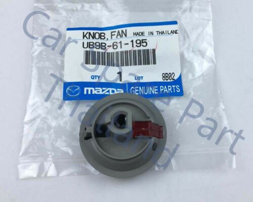 Genuine Heater A//C Heater Fan Switch Control Knob 05-12 Mazda BT50 Pickup