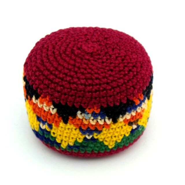 Hacky Sack Crochet Guatemalan Foot Bag Ebay