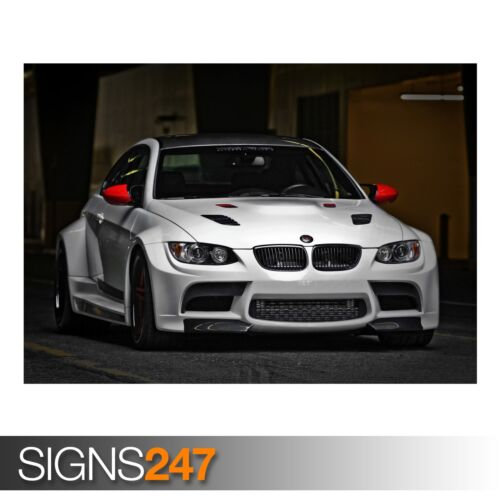 AA495 voiture poster-photo poster print art A0 à A4 Bmw rtm 3 tuning