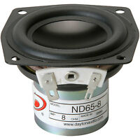 Dayton Audio Nd65-8 2-1/2 Aluminum Cone Full-range Driver 8