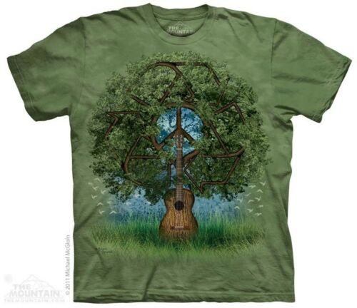 New The Mountain Guitar Tree T Shirt