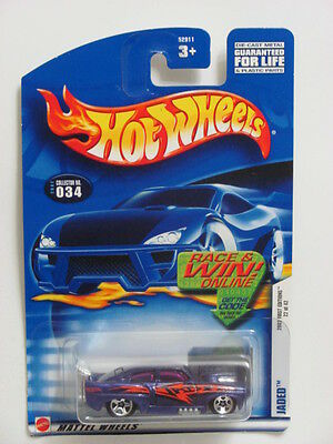 Jaded 2002 First Editions  Hot Wheels