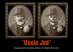 """Haunted Memories /""""Uncle Jed/"""" 5 X 7 Changing Portrait"""