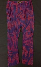 Vivienne Westwood Anglomania Void Trousers. Purple/Red/Blue. IT 50 UK 18.