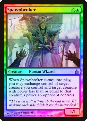 Spawnbroker FOIL Ravnica City of Guilds NM-M Blue Rare MAGIC MTG CARD ABUGames