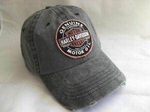 Harley-Davidson-Genuine-Oil-Patch-Baseball-Cap-Kappe-Muetze-99411-16VM