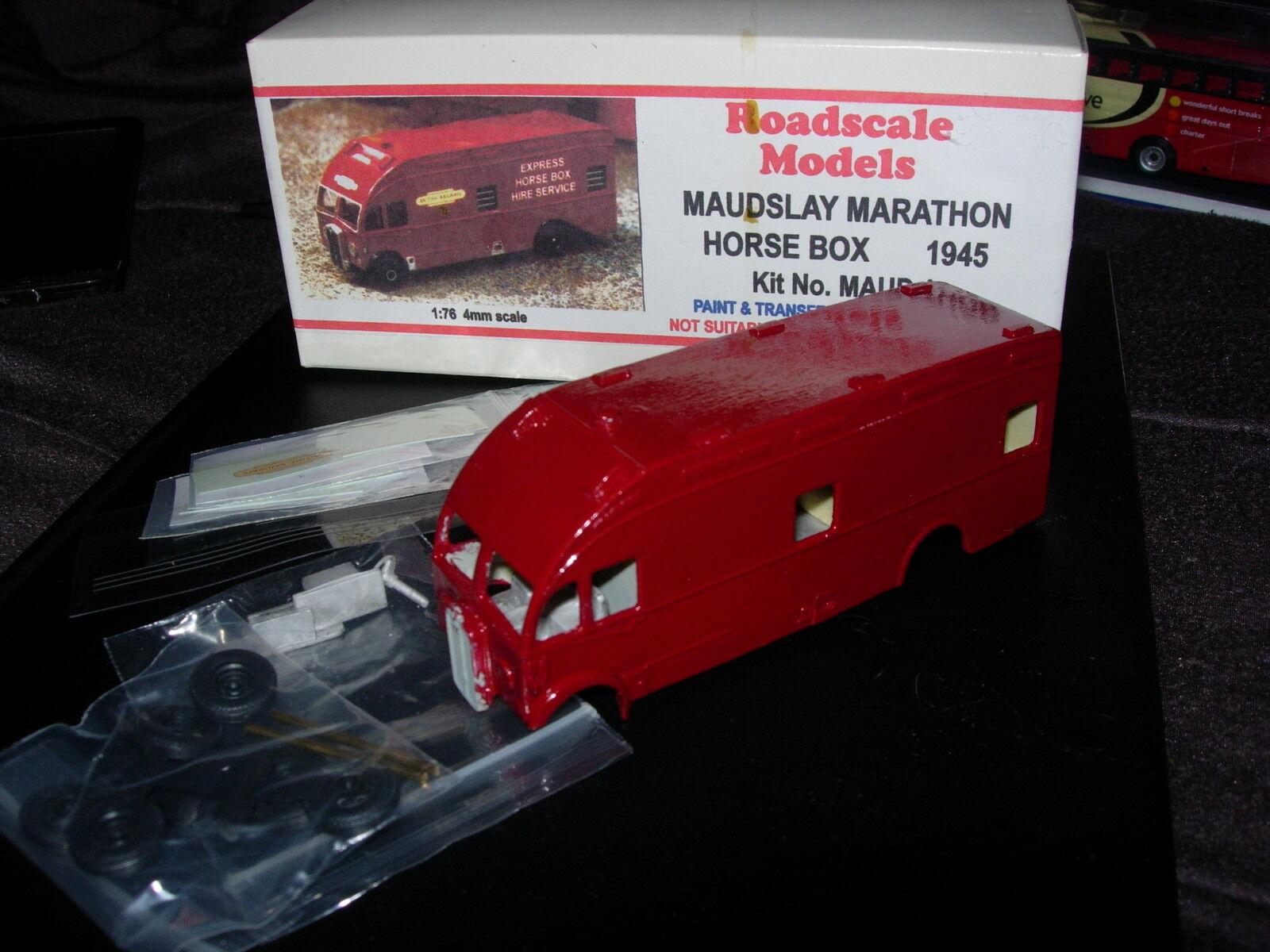ROADSCALE MODELS MAUDSLEY MARATHON 1945 1 76 SCALE RESIN