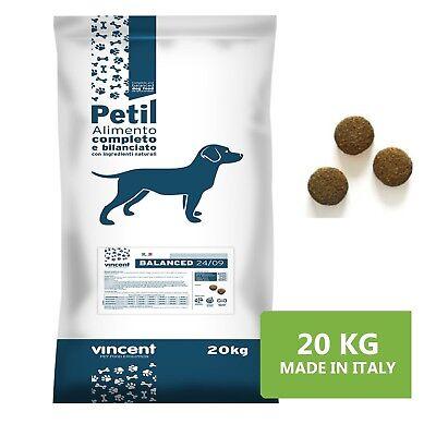 Aggressivo Crocchette Per Cani Con Carne Petil Mini Adult 20kg Mantenimento Completo Adulti Saldi Estivi Speciali