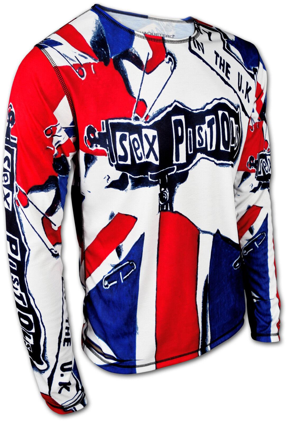 Sex Pistols Sweatshirt langärmliges T-Shirt Pullover Longsleeve Longshirt Herren
