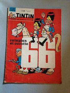 journal-tintin-757-France-1963-rataplan-et-cocotte-dossier-la-lancia-fulvia
