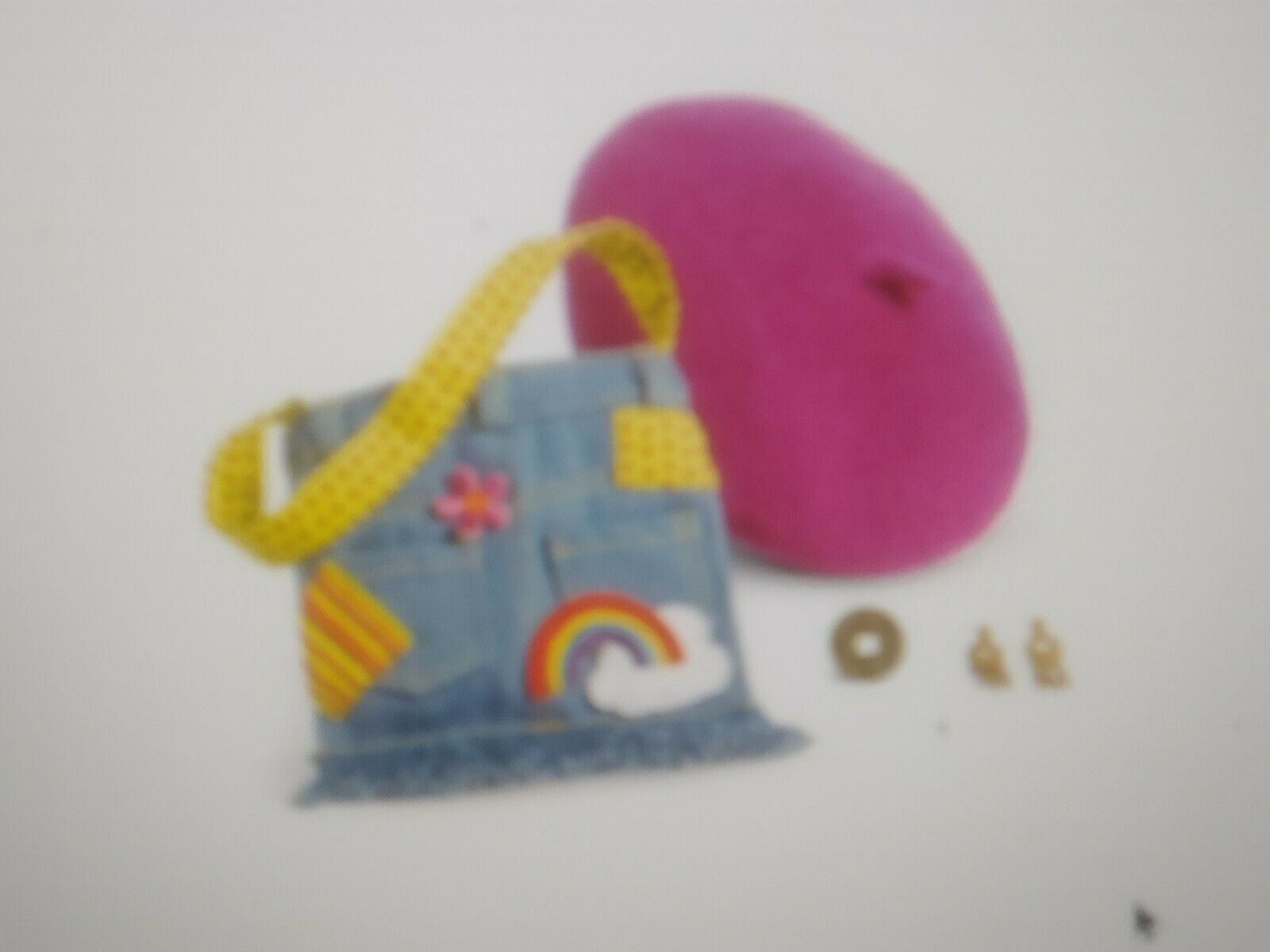 NEW - IVY LING MEET Acessories Hat Coin Purse + EARRINGS HTF RARE American Girl