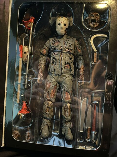 NECA Ultimate Friday the 13th Part VII A New Blood Jason Voorhees Action Figure