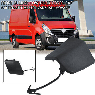 For Renault Master Vauxhall Movano Bumper Tow Eye Hole Cover Cap Flap