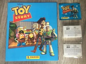 Panini Toy Story 1 1995 Disney Full Album Complete loose stickers New + Packet
