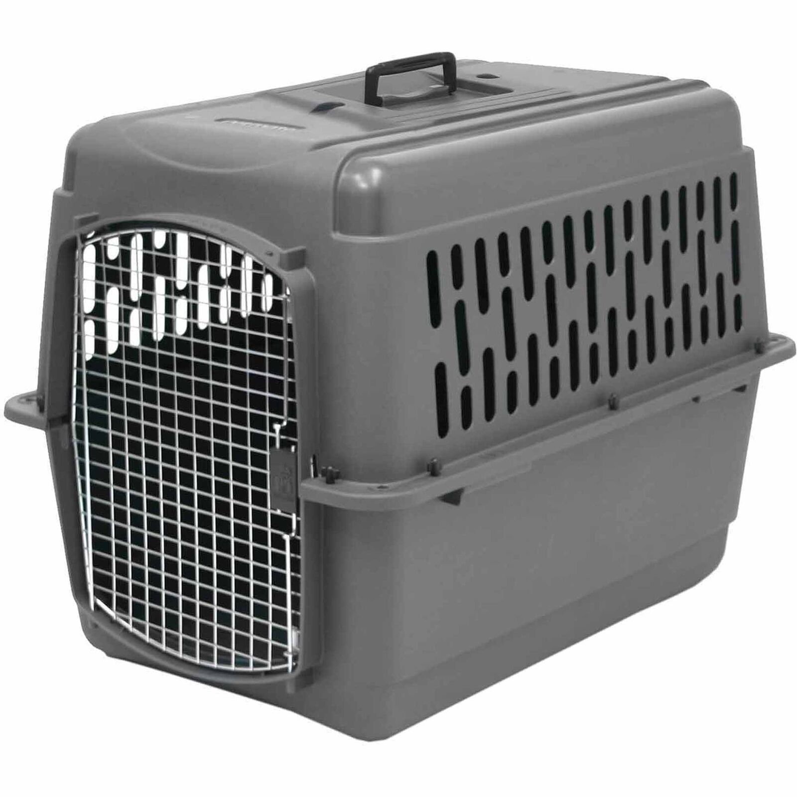 Safety Pet Dog Crate Cage Porter Large Travel Heavyduty Plastic Airline 25-30 lb
