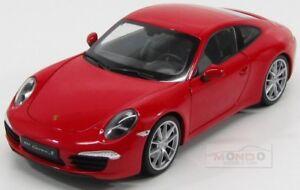 Porsche 911 991 Carrera S 2013 Rouge Welly 1:18 We18047r