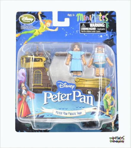 Jolly Rodger Disney Minimates Peter Pan Bateau Pirate avec Wendy et Mouche