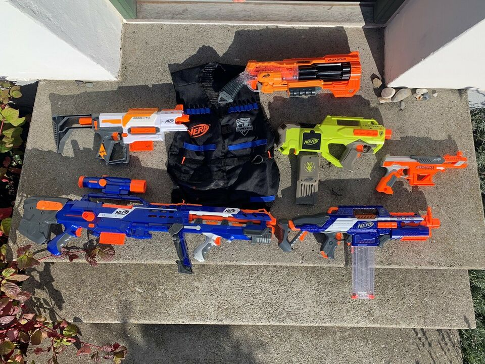 Andet legetøj, Nerf gevær, Nerf