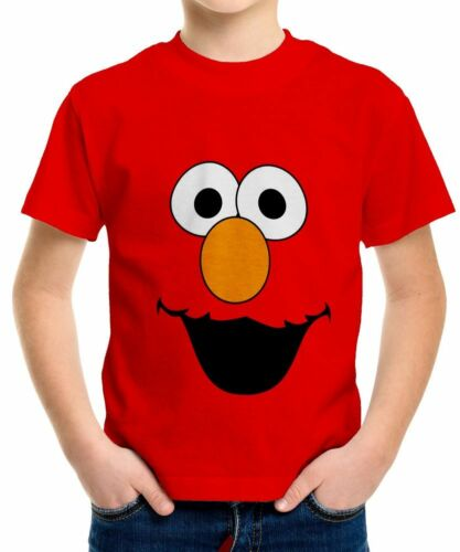 Elmo Boys Kid Youth T-Shirt Tee Age 3-13 New