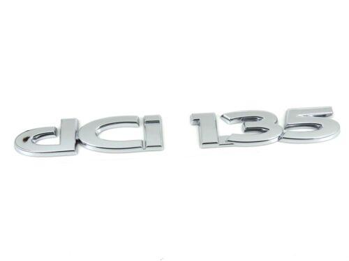 van Genuino NUEVO RENAULT DCI 135 Insignia Emblema Para Master 1998-2010 y Trafic 2001
