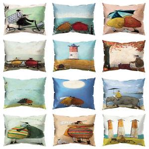 Am-KF-Bike-Beacon-Sea-Moon-Elephant-Pillow-Case-Cushion-Cover-Sofa-Cafe-Decor