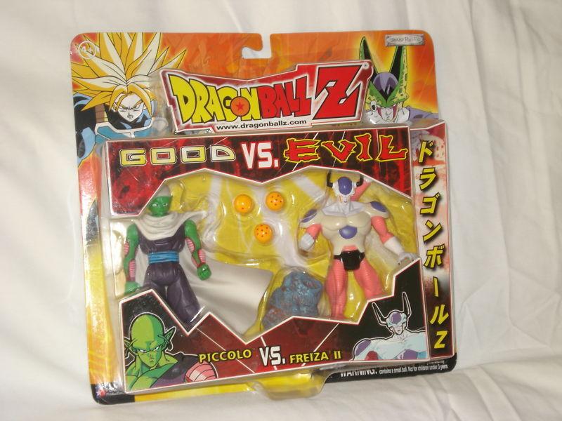 Dragonball Z buena Vs Evil Figura Conjunto de 2-Pack, JAKKS 6 in (approx. 15.24 cm) Figura De Acción