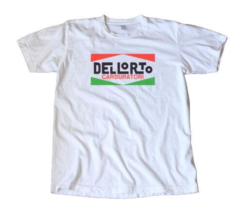 Benelli Ducati Vintage Dellorto Italian Motorcycle Carburetor T-Shirt Guzzi