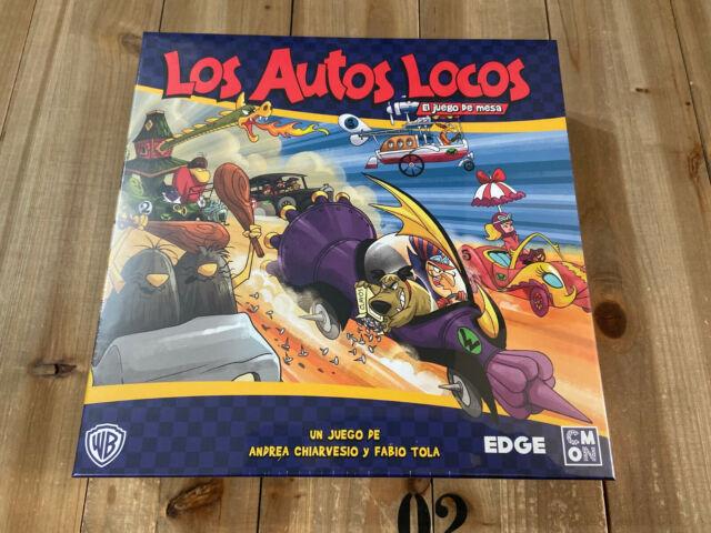 juego de mesa LOS AUTOS LOCOS - EDGE Ed. Español - CMON